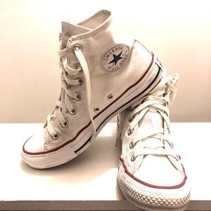 Unisex Converse Chuck Taylor White High Top